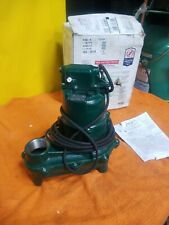 264-0002 N264 New Zoeller Sewage Ejector Pump Little Giant 4Nw07