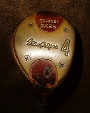 Vintage MacGregor Tourney DX2W 4 Wood MRH Stiff Steel Shaft Golf Club