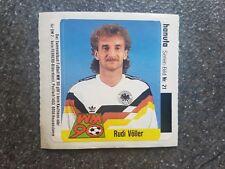 Ferrero Hanuta Sammelbild Rudi Völler DFB GER Fußball WM 90 Nr. 21 Rarität!