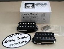 Lindy Fralin Unbucker Humbucker stock set, 3 conductor - black