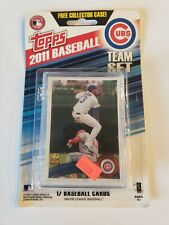 2011 Topps Baseball Factory Sealed 17-Card Chicago Cubs Team Set Alfonso Soriano