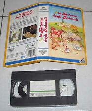 Vhs LA FATTORIA DEGLI ANIMALI di George Orwell Fonit Cetra 1988 Cartone animato