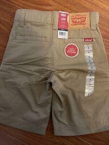 NWT Boys Levis Cargo Shorts Size 5