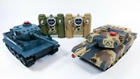 2.4G UK 518 1/24 RC Tank IR Remote Control Toys Simulation Infrared Battle Tank