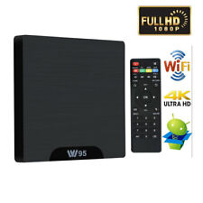 W95 Android 7.1 Quad Core 2+16Go 4K WIFI Smart TV BOX LED Lecteur Multimédia FR