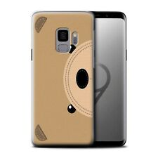 Cousu des Animaux Effet Coque Gel pour Samsung Galaxy S9/G960/Ours