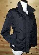 GUESS DOWN Diamond Quilt Puffer Jacket - Zip & Button Feather Down Jacket  Sz S