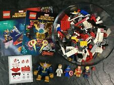 Lego Marvel Comics AVENJET SPACE MISSION! THANOS! Complete w Instructions! 76049