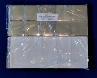 200 2X2  SAFE T Coin Flips Non-PVC Plastic with Paper Inserts - Safe for Coins