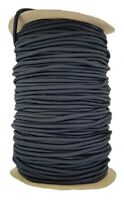 Elastic Cord 4 mm round sold in lengths of 2,3,4,5, Metres Black