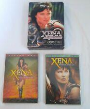 Xena Warrior Princess Season 1, 2 &3 DVD Lot