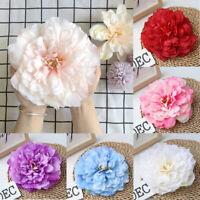 IG_ 16cm Artificial Fake Peony Flower Head DIY Wedding Wall Background Table Dec