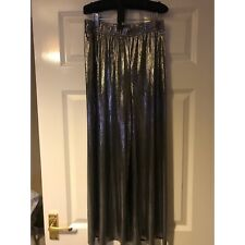 Urban Outfitters Silver Metallic Cullotes