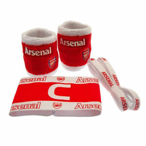 OFFICIAL ARSENAL ACCESSORIES SET, AFC, THE GUNNERS