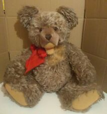 Vintage original Steiff ZOTTY Long mohair Teddy Bear stuffed animal