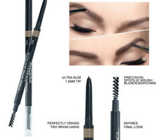Natural Eyebrow Pencil Cosmetics Lasting Eye Brow Pen Waterproof Makeup Brown
