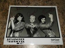 FARMERS DAUGHTER COUNTRY MUSIC STARS AUTOGRAPHED 8 X 10 GLOSSY PROMO PHOTO