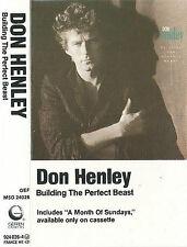 Don Henley Building The Perfect Beast CASSETTE ALBUM Pop Rock Southern EAGLES