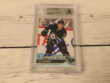 Kyle Connor Signed 2016/17 UD Upper Deck Young Guns Card RC Beckett BAS BGS b