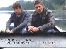 Supernatural Seasons 1-3 Winchester Brothers Chase Card J1 Reunion