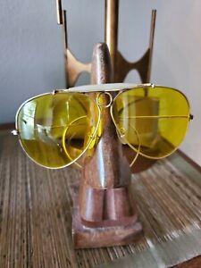 Vintage B&L RAY-BAN Kalichrome Shooting Aviator Sunglasses, 1/10 12K Gold Filled
