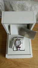 NUOVO con scatola, Escada Donna Superdry Swiss Acciaio Diamond Watch. RRP £ 425