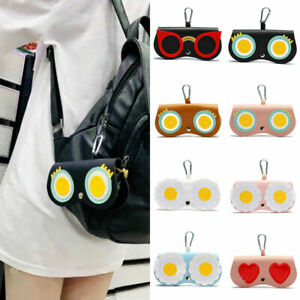 Cute Spectacle Case Sunglasses Glasses Cover Eyewear Portable Protector Bag *