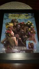 Isaac Hayes Juicy Fruit Rare Original Promo Poster Ad Framed!