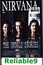 Nirvana - The untold stories DVD 70 mins - 2003 Chrome Dream/Rajon Australia