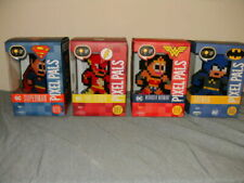 pixel pals Dc Justice League 4pk. Superman,Batman, The Flash and Wonderwoman