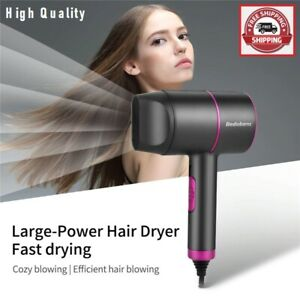 2000W Professional Hair Dryer Blue Light Anion Hair Blow Hot Cold Salon Tool