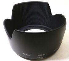 Nikon HB-34 Lens Hood for Nikkor AF-S DX 55-200mm F4-5.6G ED OEM Genuine