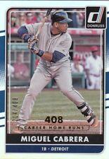 2016 Donruss MIGUEL CABRERA Foil Stat Line 214/408 Tigers #67