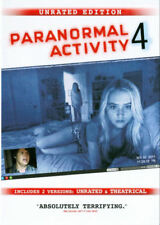 BRAND NEW & SEALED Paranormal Activity 4 (DVD, 2013, WS, Unrated Cut) *Free Ship