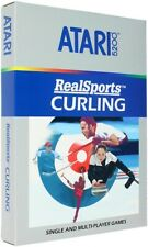 RealSports Curling - Original Atari 5200 Homebrew Game - New in Box!
