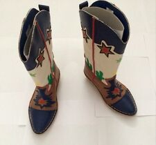 Stella McCartney Eco Leather Cowboy Boots  Size 10