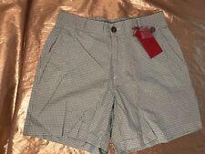 NWT Men Southern Proper Green Gingham Check 3 Pocket Shorts Size XLarge See Pix