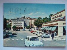 CHIANCIANO TERME Hotel Continentale Fiat 500 Siena vecchia cartolina