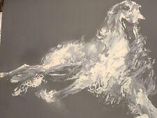 LeRoy Neiman Borzoi Dog, Serigraph Artist Print Progressive Proof, #1
