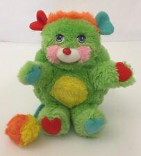 "Mattel Popples 8"" Putter Popple Green Plush Toy No Tag"