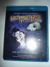 Andrew Lloyd Webber's Love Never Dies Blu-ray Phantom of the Opera sequel NEW!