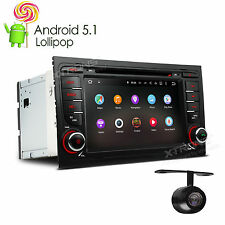 Auto Car Headunit Stereo 4Core Android 5.1 GPS Navigation DVD +CAM For Audi A4