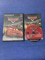 Disney Pixar Cars (Sony PlayStation 2, PS2, 2006)- Complete