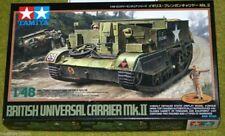 Tamiya BRITISH UNIVERSAL CARRIER MKII 1/48 Scale Kit 32516