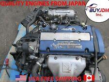 Jdm Honda Accord Euro R F20B Vtec Engine , Blue Top F20B Dohc Vtec