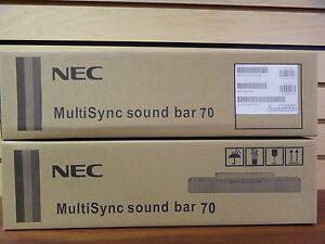 1 PIECE NEC MultiSync Sound Bar 70 BLACK FO4-F3137A NEW