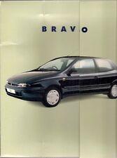 Fiat Bravo & Brava 1996 UK Market Large Format Presentation Sales Brochure