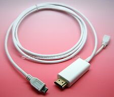 MHL Micro USB 5pin Male to HDMI male Adapter Cable for Galaxy S2 i9000 HTC E15