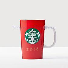 Starbucks 2016 édition limitée rouge tasse 355 ml/12 fl oz new & sealed