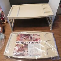Vintage T.V. Trays 2 Bed-Picnic-Car- Chair Chadwick-Miller Inc. Canada NOS